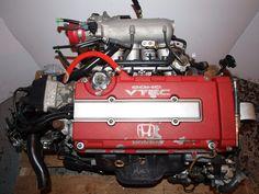 JDM Honda B18C (1996-1997) Engine & LSD 5spd Jdm Engines, Jdm Parts, Honda Cars, Japanese Cars, Motor Car, Cool Cars, Engineering, Car Stuff, Ottawa