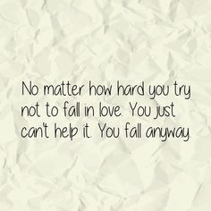 You fall anyway