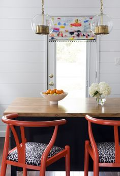 There isn't a shiplap or plank wall I don't love — they just make me happy. This trend, which Kris Jarrett from Driven by Decor and Naomi Stein from Design Manifest (below) pulled off superbly, will definitely be happening in several rooms of my home (and not soon enough).Click through for more decor inspiration and trends to try.