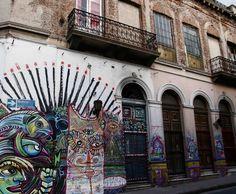 Photo Deco :   Exotique   Façades colorées maison Buenos Aires