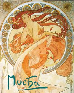 The name of Alphonse Mucha is inextricably linked with the evolution of Art Nouveau. Born in rural Moravia in 1860, Mucha found fame in Paris when a chance commission for a poster for the actress Sara