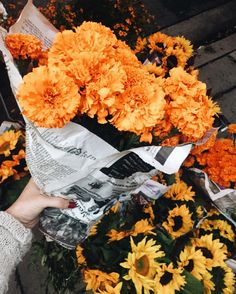 liveloveevintage:  buying myself flowers because it's my birthday week