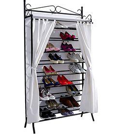 wrougt iron shoe cabinet / ferforje ayakkabı dolabı
