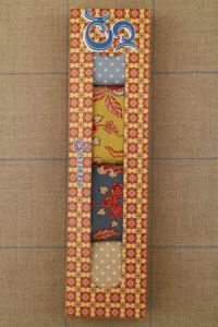 "Sajou gift box Assort. 4 four  ""indienne"" swatches 50 x 55cm"