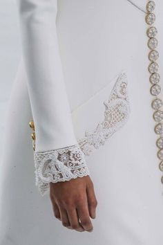 Chanel ~ Haute Couture Lace Details