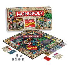 Marvel Comics Monopoly - fab gift for the comic book lover in your life! (( Hint hint ))