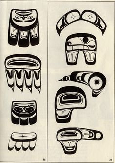Native American artwork and design. Interesting use of line and shape.