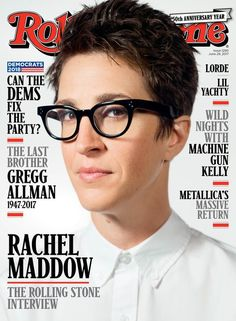 Rachel Maddow knows how to look good in MOSCOT eyeglasses. Check out Rachel in her VILDA frames and shop the look with MOSCOT eyewear. Rachel Maddow, Rolling Stones, Dr Hook, True To Form, Trump Taxes, Greggs, Lorde, Political News, Metallica