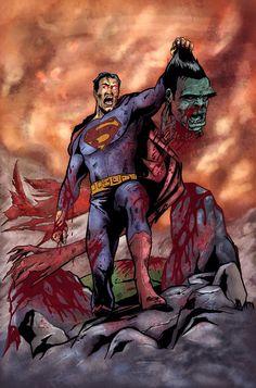 Superman versus the Hulk.