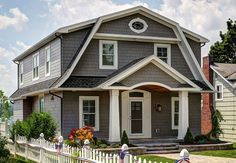 Choose Your Housing Style Colonial House Exteriors