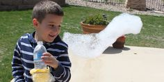DIY Giant Bubble Snakes by confessionsofahomeschooler #Bubble_Snakes #Kids #confessionsofahomeschooler