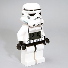 Storm Trooper Alarm Clock by Lego via Fred Flare - Retail price $44.00 - Fab.com flash sale price $16.00