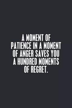 Always take a deep breath