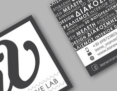 """Check out new work on my @Behance portfolio: """"I.V. Creative Lab Business Cards"""" http://be.net/gallery/35525383/IV-Creative-Lab-Business-Cards"""