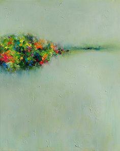 PRINT16x20printed Giclee Art abstrait 17x22paper paysage 20 original peinture à huile