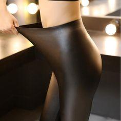 Hyoty Faux Leather Leggings | YESSTYLE