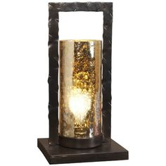 Interlude Home Tomar Electrified Bronze Lantern