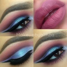 Cut crease look ✳