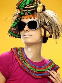 """Fab Editorial: """"African Urban Vision"""" for Vogue Accessory 