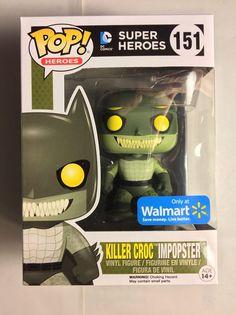 Funko POP! Heroes KILLER CROC IMPOPSTER 151 Walmart Exclusive Vinyl Figure MINT    eBay