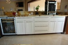 Shaker Style Kitchen Kitchen Cabinets -  Modern Kitchen Cabinets. Built in South Florida By Alliance Cabinets & Millwork inc.