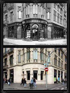 FOTOS DE BARCELONA Fotografías comparativas de Barcelona. Pasado y presente Barcelona City, Barcelona Travel, Valencia, Places Of Interest, Old City, Gaudi, Best Cities, Malaga, Old Pictures