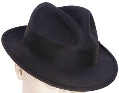 f1bd7e424aa06 Vintage Mens Fedora Hat Genuine Fur Felt Charles Ogilvy Ottawa Size Large 7  1 4