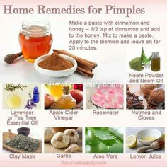 More #natural remedies for #acne treatment > http://theclearskinproject.com/acne-article/natural-acne-treatments/