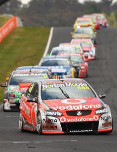 Drive one of these babies - Craig Lowndes - Team Vodafone Supercars - Bathurst 1000 V8 Cars, Race Cars, Police Cars, Nascar, Australian V8 Supercars, Stock Car, Disney Cars 3, Car Themed Parties, Sydney