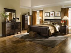 Arts & Crafts Chocolate 5-PC Bedroom Package - Value City Furniture