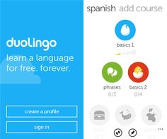 If you've always wanted to learn a new language or maybe refresh one you learned back in school, Duolingo is an app that lets you do that. #phoneapp #mobileapp