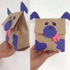 Bolsa de papel Perrito