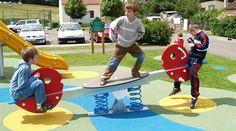 Seesaws, playground equipment from KOMPAN