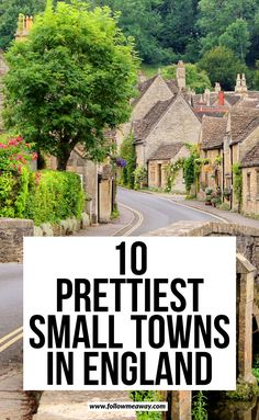 10 Prettiest Small Towns In England London Travel, Travel To Uk, Travel To England, European Travel, Places To Travel, Travel Guide, Visit England, Travel Destinations, England Uk