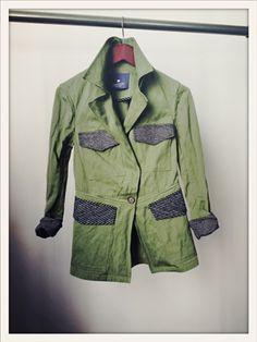 Gryphon x Tomboy Style jacket. c o v e t.