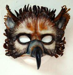 Andrea Libertini - Griffin Leather Mask