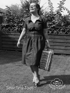 """SewTinyToes: 50er Jahre Kleid """"Tanzrausch"""" von Schwalbenliebe"""