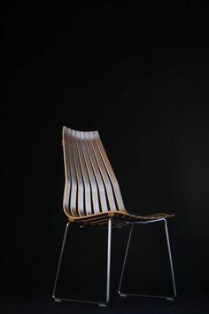 SCANDIA PRINCE eetkamerstoel door Hans Brattrud Plywood Design, Prince, Doors, Chair, Furniture, Home Decor, Recliner, Homemade Home Decor, Home Furnishings