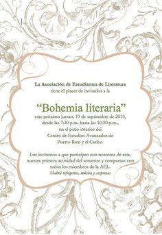 Bohemia Literaria @ Centro de Estudios Avanzados de Puerto Rico y el Caribe, Viejo San Juan #sondeaquipr #bohemialiteraria #viejosanjuan #centroestudiosavanzados