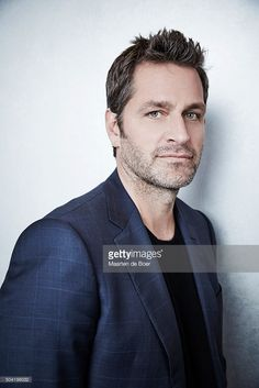 Peter Hermann of A+E Network's TV LAND - 'Younger' poses in the Getty Images…