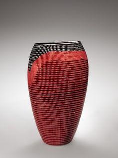 Tessuto Vase by Lino Tagliapietra, 1986 | Corning Museum of Glass #glass #Redglass #vase