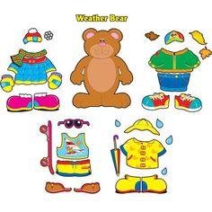 dress up bear printable | Hello Fall! - CLEAR Music Therapy - Calgary, Alberta