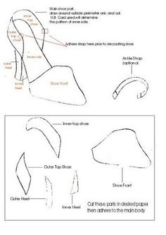 how to make paper shoes templates - paper shoe template paper shoes free paper and templates