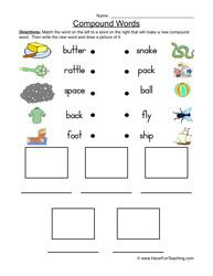 compound words worksheet 2 worksheets teaching vocabulary and english. Black Bedroom Furniture Sets. Home Design Ideas