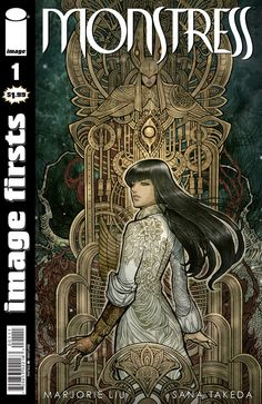 Monstress #1 Image Firsts