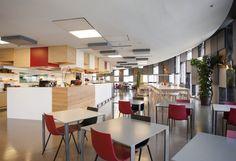 Agbars Barcelona Corporate Cafeteria / INDAStudio