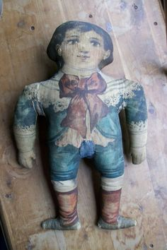 Antique Printed Doll