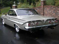 152 best chevy 1961 images chevrolet impala car tuning custom cars rh pinterest com