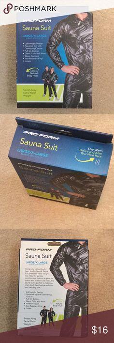 Pro Form Sauna Suit, Elastic Stretch Fit Sweat Suit, L/ XL Pro-Form Other