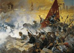 SIEGE /& RELIEF OF GIBRALTAR BRITISH WAR HISTORY PAINTING REAL CANVASART PRINT